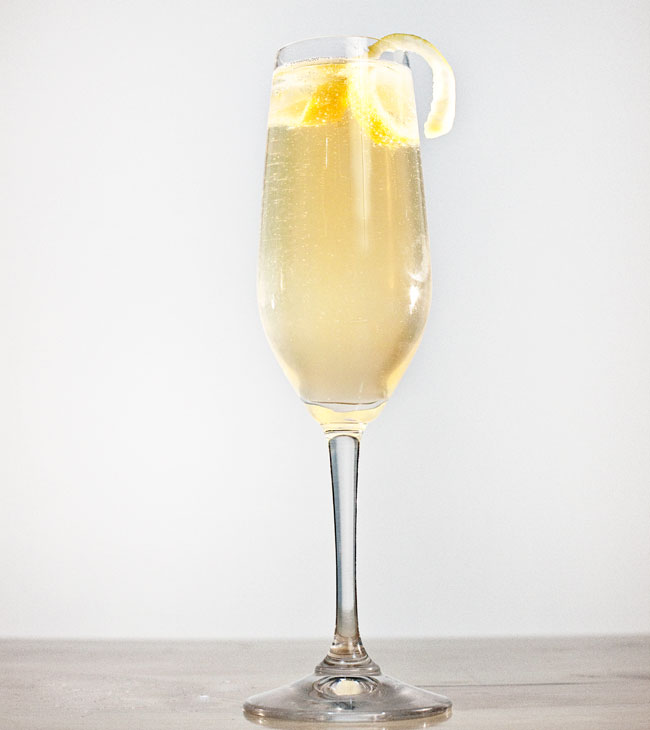 french 75 drinks by robert